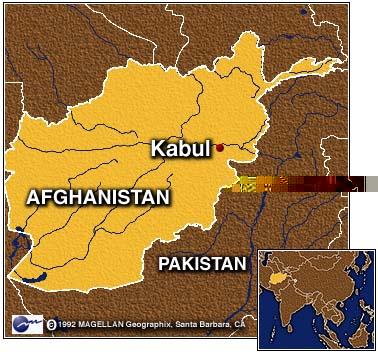 kabul map 2010. afghanistan kabul map