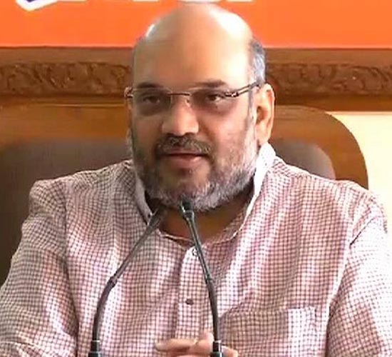 Bharatiya Janata Party president Amit Shah