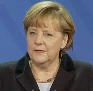 Angela Merkel's office rug was part of collection looted by Hitler's deputy Goering