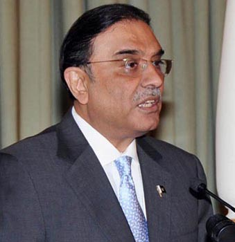 President Zardari wants end to political confrontation
