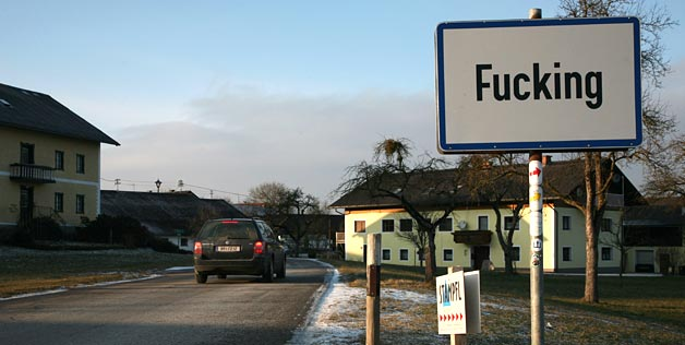 The town of fuck