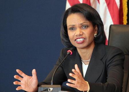 state Condoleezza Rice.
