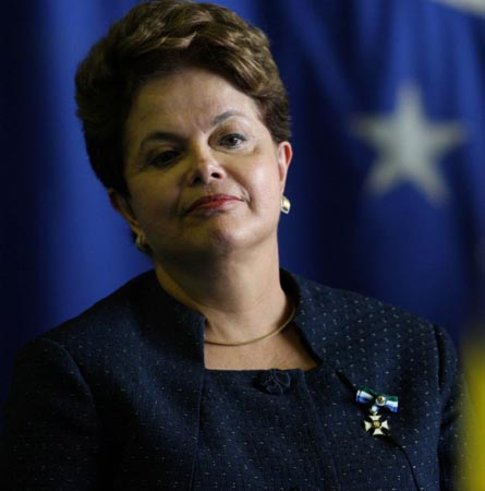 Brazilian president says World Cup work nearing completion