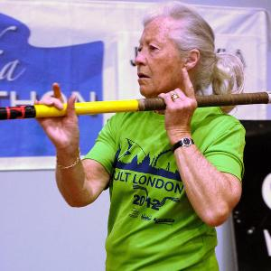 77-year-old Brit woman becomes world champion pole-vaulter and heptathlete