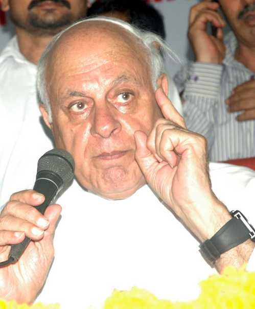 Farooq Abdullah Returns For Talks Farooq Abdullah