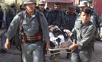 Three killed in Afghan suicide bombing
