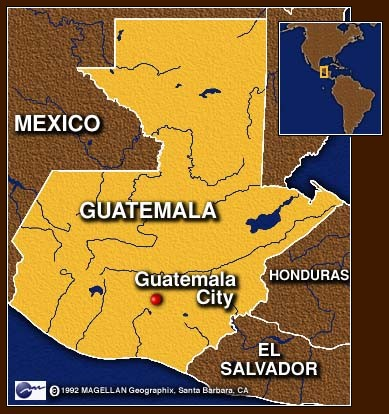 guatemala map Guatemala City, July 22 : Over 30 dead sea turtles have been
