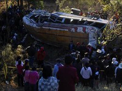 35 killed in Guatemala bus crash