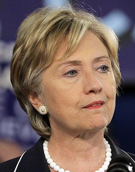hillary clinton portrait. memory and a 120GB disk