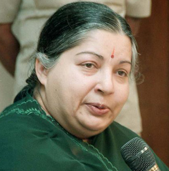 Power shortage in Tamil Nadu due to sabotage: Jayalalithaa