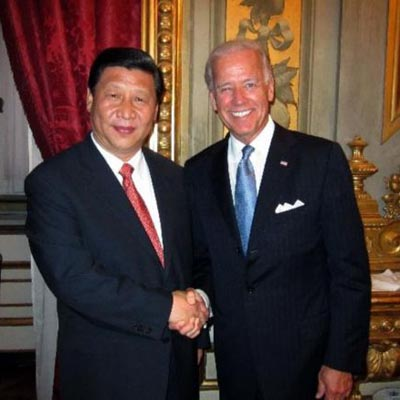 US, Chinese vice presidents discuss relations