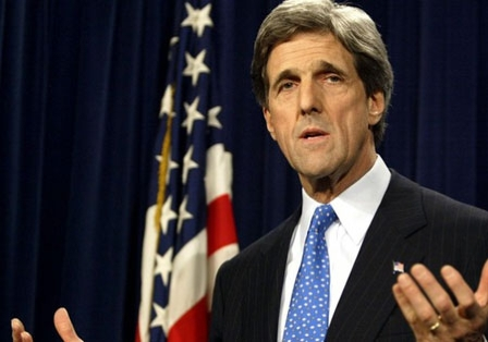 US Senator Kerry not in favour of ''sledgehammer approach'' to ties with Pakistan