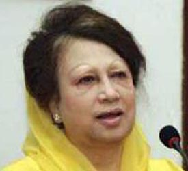 Khaleda Zia asks India to respect majority's aspirations