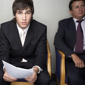 Fidgeting during interviews helps men relax