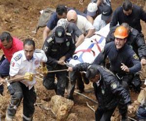 Seven killed in landslide in central Mexico