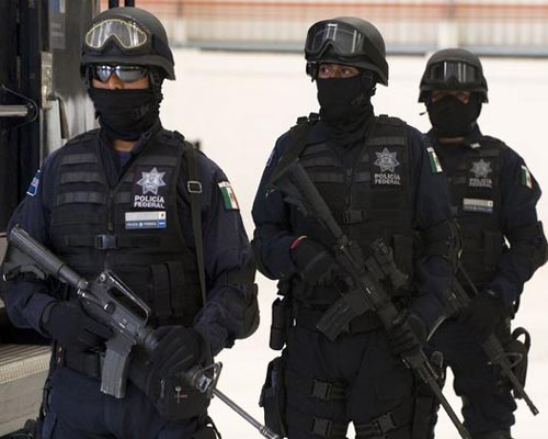 Five die in Mexico shootout