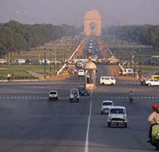 Bright Monday morning for Delhi
