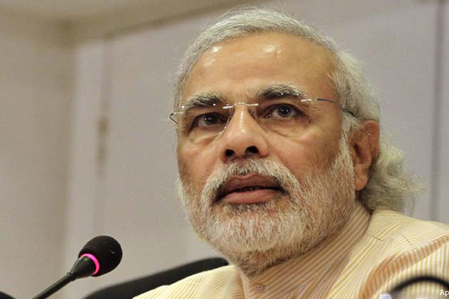Modi targets Congress, calls it a ''burden''