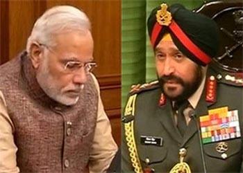 Narendra Modi, Bikram Singh