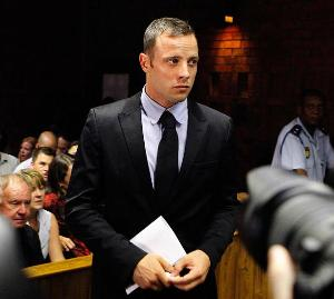 'Gun-toting' Steenkamp felt 'less stressed' after shooting gun at range, reveal photographs