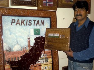 Pak jeweller to gift Indian flag made of precious stones for peace promotion