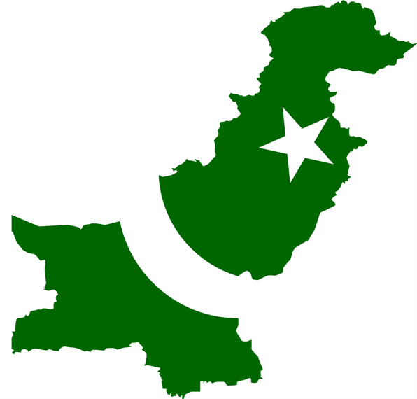 HAPPY INDEPENDENCE DAY Pakistan_flag_map_