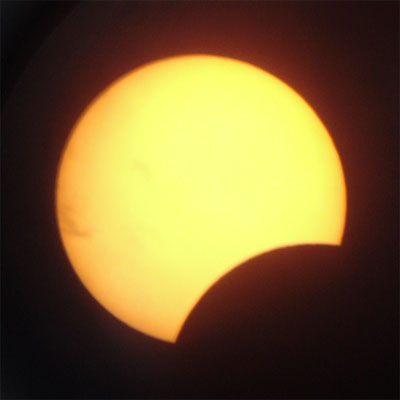 partial solar eclipse Partial Eclipse