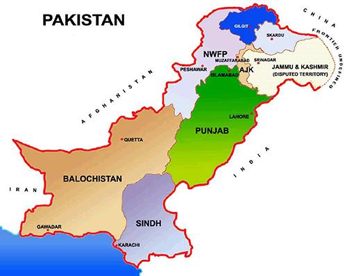 Punjab World Map.Pakistan Tehrik E Taliban Pakistan Ttp Talibans Threat New