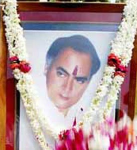 Rajiv Gandhi remembered on death anniversary
