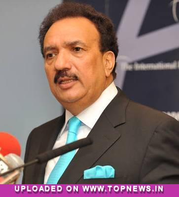 Rehman Malik labels mobile phones ''bombs on foot''
