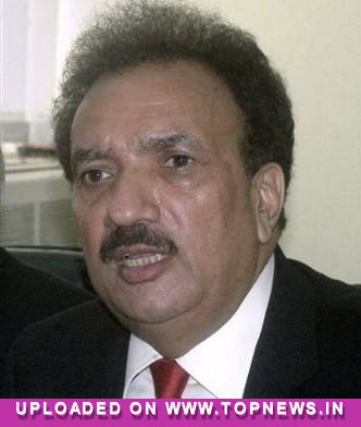 Motorcycles, cellphones have become terrorists'' instruments: Rehman Malik