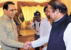 Pakistani daily hopes Sharif, Kayani work together