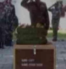 Srinagar: Wreath laying ceremony held for Kupwara's slain heroes