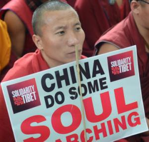 Exiled Tibetans express solidarity with self-immolators through music