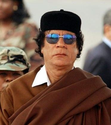 leader Muammar al-Gaddafi