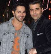 KJo blesses 'student' Varun Dhawan on his 30th b'day