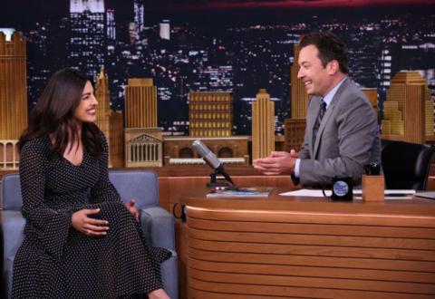 PeeCee spreads 'Holi' spirit on 'The Tonight Show with Jimmy Fallon'