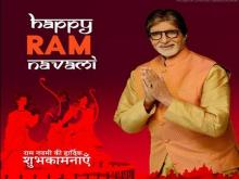 Big B extends warm 'Ram Navami' wishes to fans