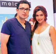 Deepika is very lucky for me: Dinesh Vijan