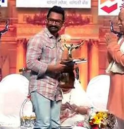 Aamir thanks Lata Didi for Dinanath Mangeshkar Award for 'Dangal'