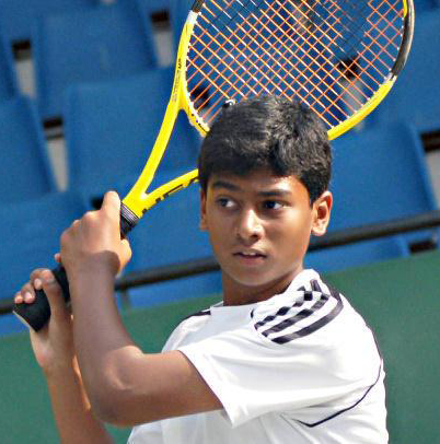 Easy win for Nikshep in sub-junior tennis