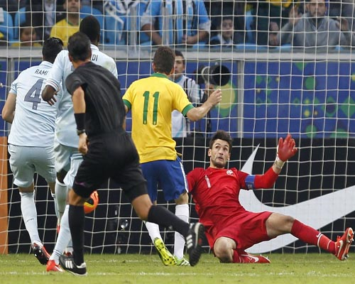 Brazil beat France 3-0 in Confederations Cup warm-up