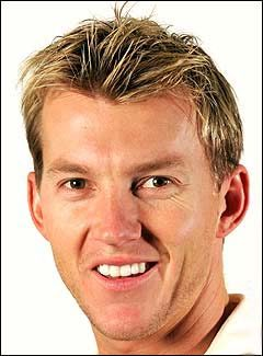 Australian pace spearhead Brett Lee