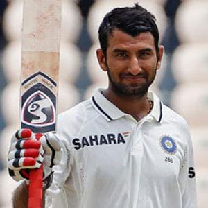 Pujara's double century takes India to 400/3