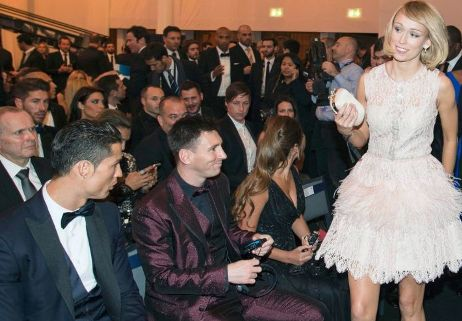 Ronaldo, Messi dubbed `sexist` for staring at Roche during Ballon d'Or award cer