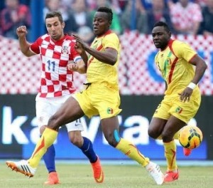 Croatia beat Mali 2-1 in World Cup warmup
