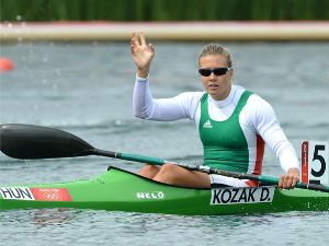 Olympic Kayak single gold for Hungary