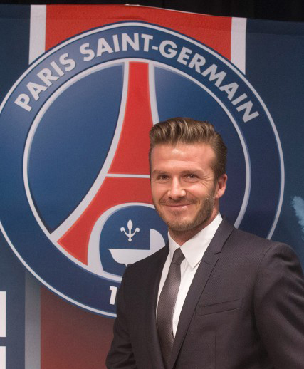 Beckham joins PSG, to donate salary for charity