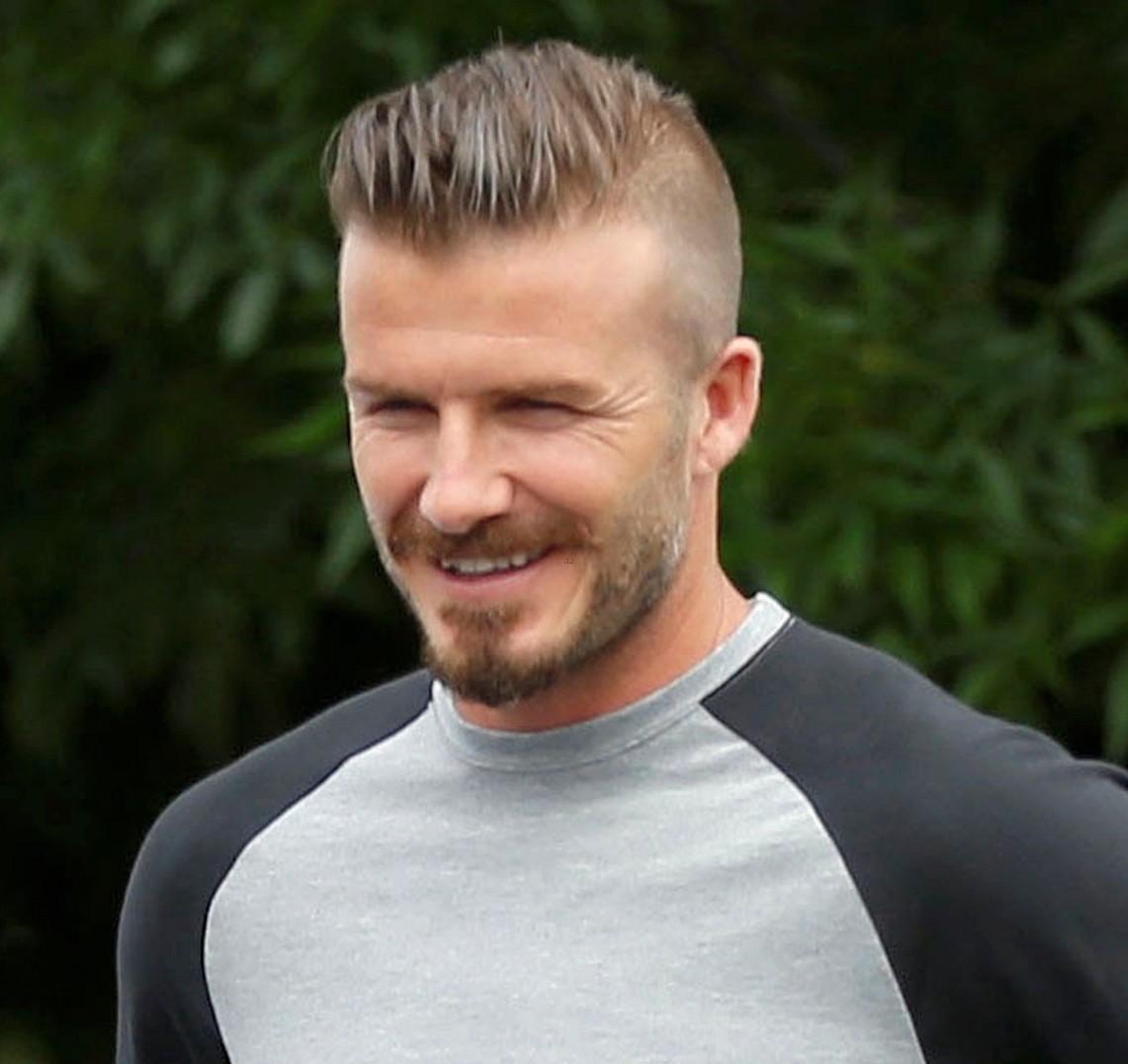 David Beckham Haircut 2013 Back out enough to slick back