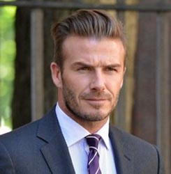 Beckham takes French lessons